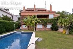 Sitges, Vallpineda detached villa for sale HS33FS