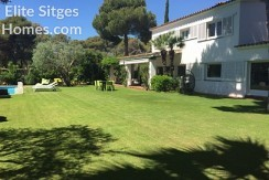 Holiday villa for rent in sitges , Terramar HS15ST