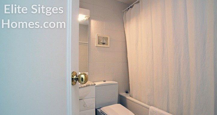 Einzel Badezimmer