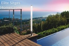 Private sea view villa Sitges Levantina for sale HS145FS