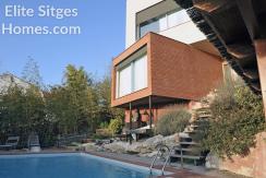 Sitges Quint Mar modern villa HS230FS