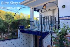 Sitges villa long term let HS164LT