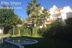Sitges Vallpineda townhouse rent HS168LT